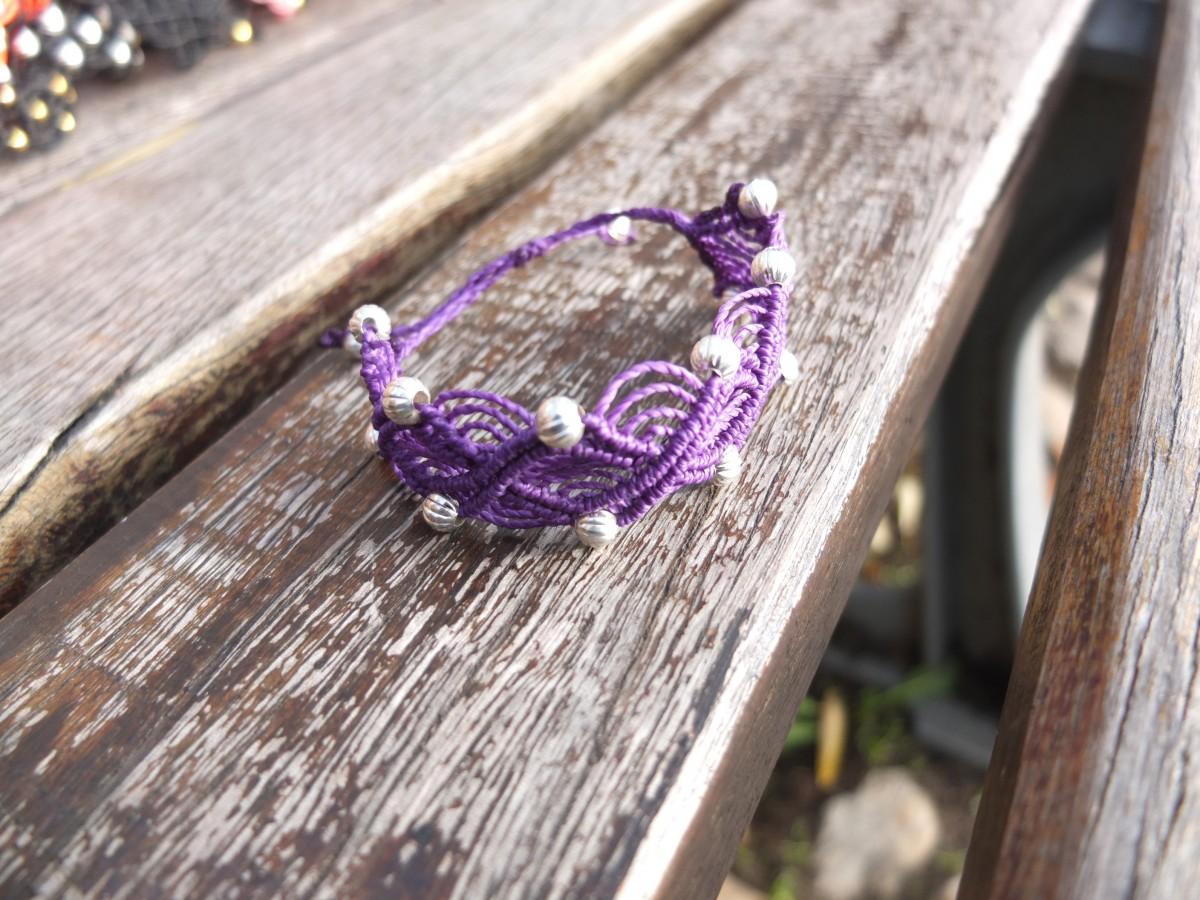 photo Amérique du sud argent metal violet