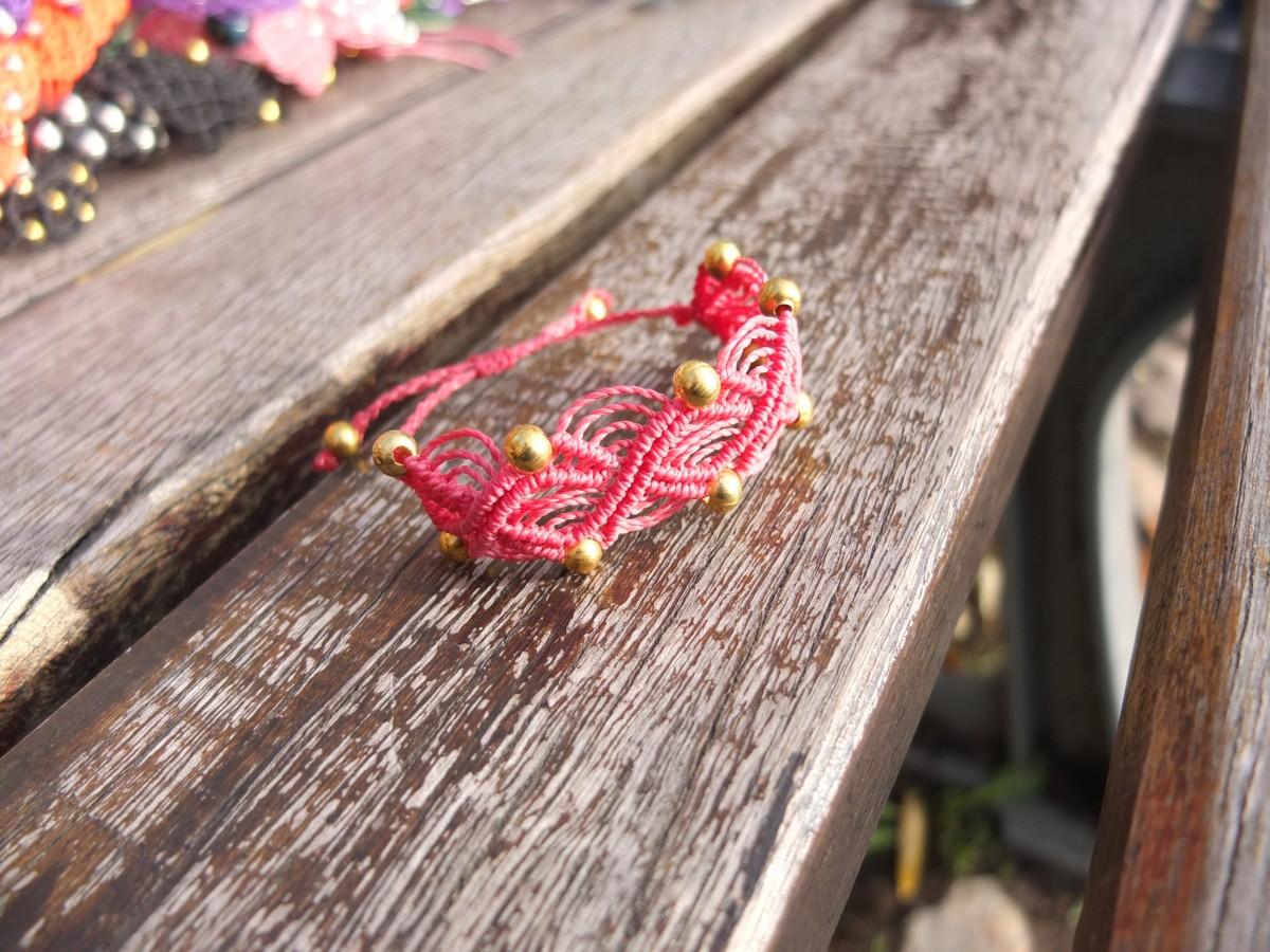 photo Amérique du sud metal or rose bonbon