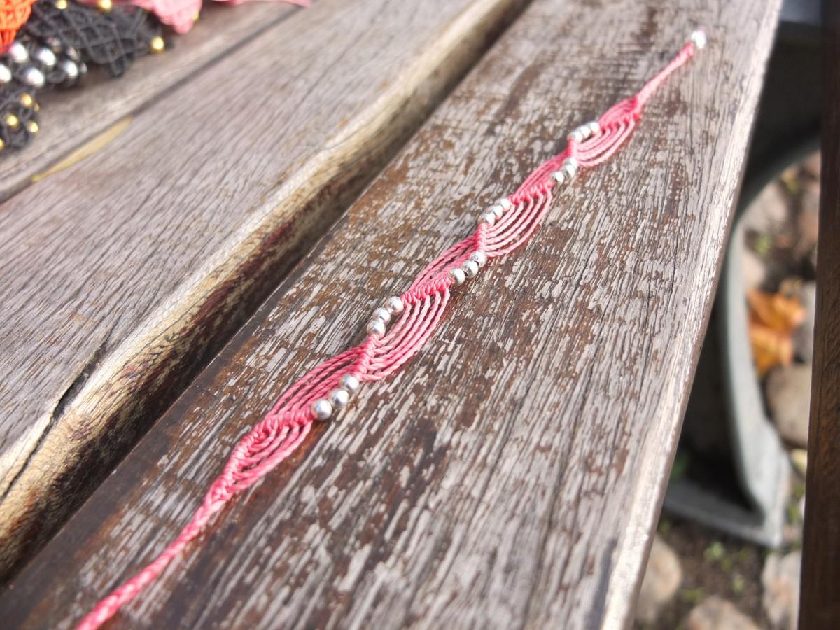 photo Amérique du sud argent metal rose bonbon