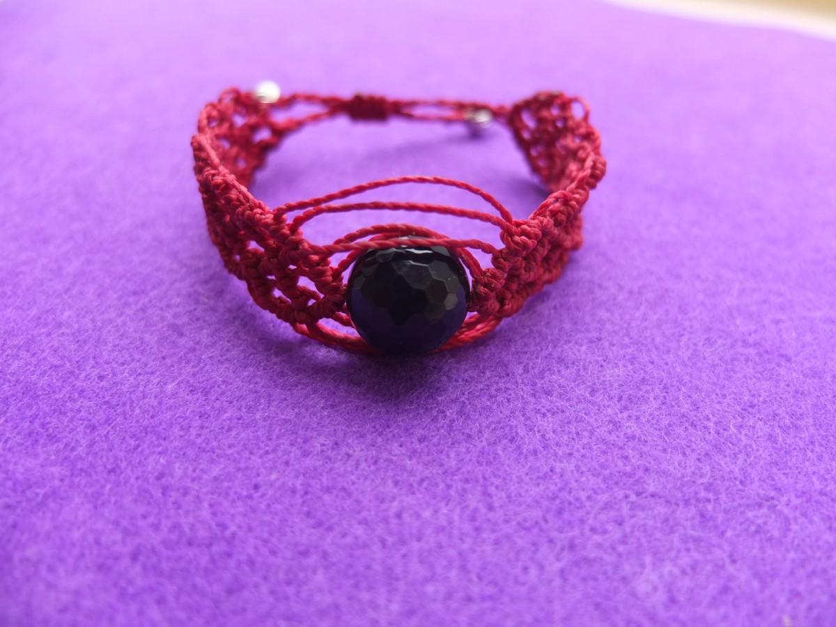 photo Amérique du sud obsidienne pierres naturelles rouge