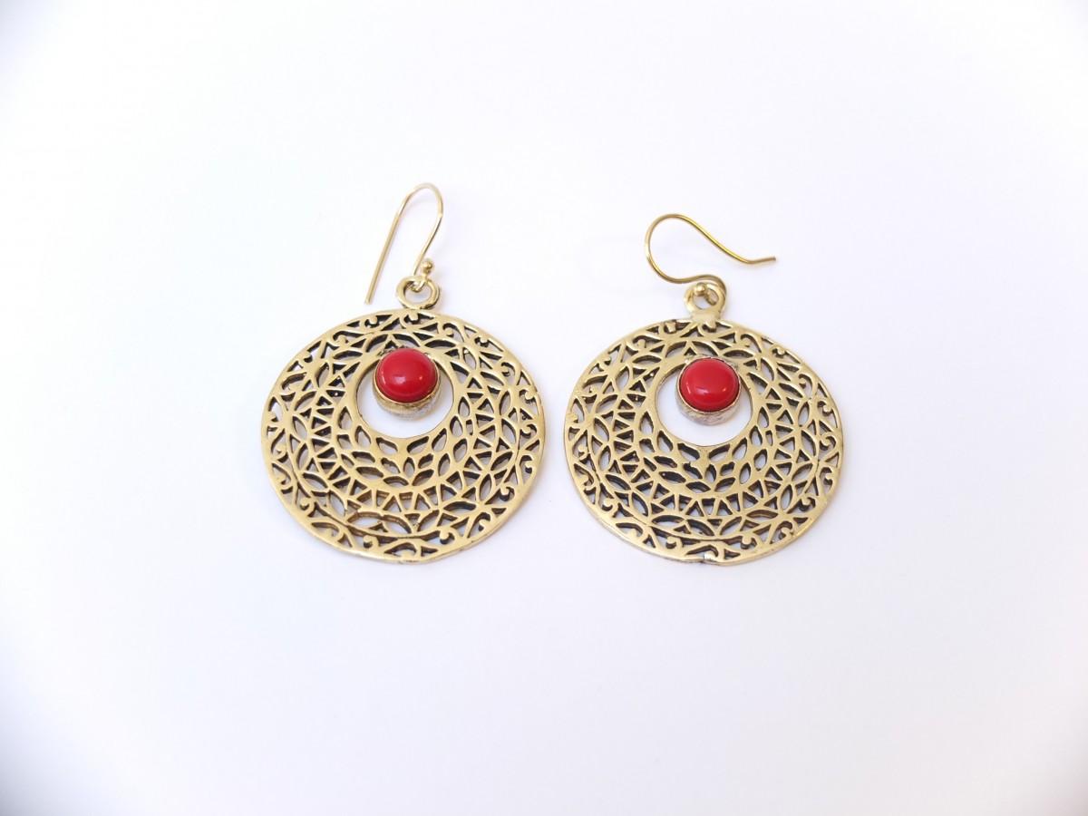 photo bronze Inde jaspe rouge pierres naturelles