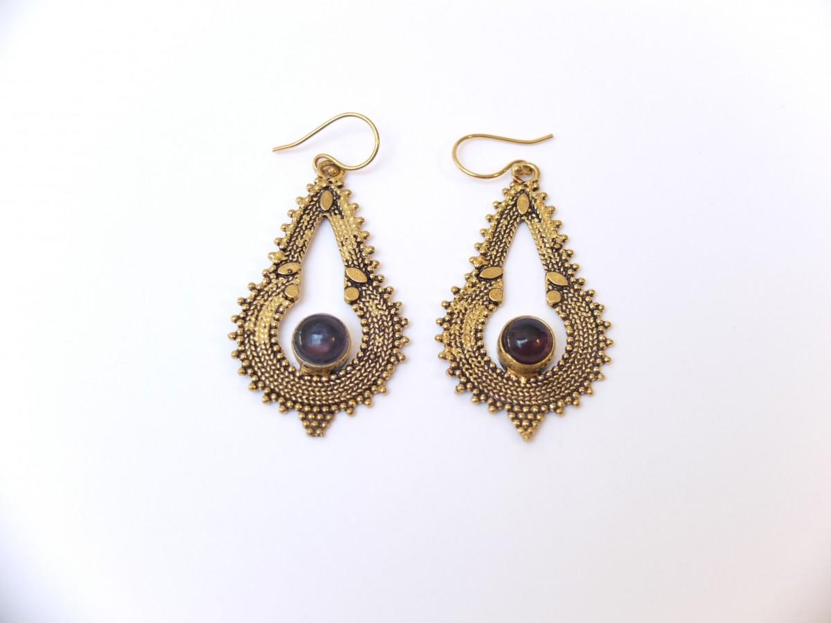 photo améthyste bronze Inde pierres naturelles