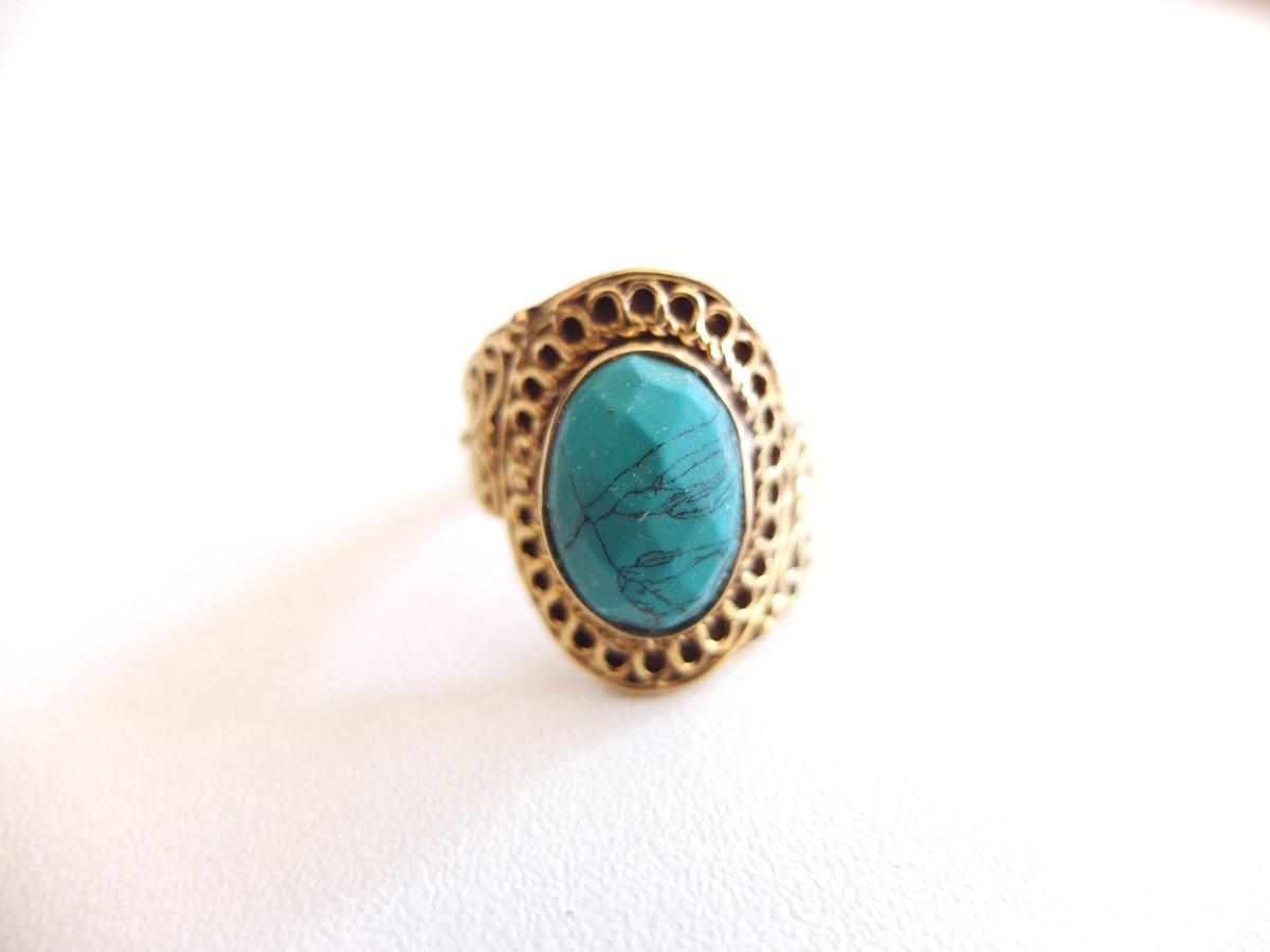 photo bronze Inde pierres naturelles turquoise