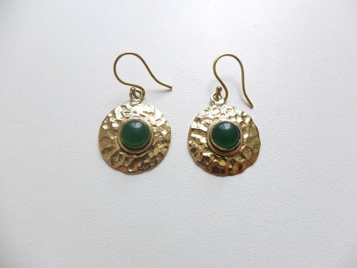 photo bronze Inde jade vert pierres naturelles